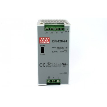 MEAN WELL DIN DR-120-24 ZASILACZ 120W 24VDC 5A