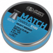ŚRUT JSB BLUE MATCH HEAVY S100 WIATR. 4.5mm 500szt
