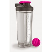 Shaker do odżywek CONTIGO Shake&Go Fit 820 ml Róż
