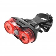 AAA x2 lampa rower 2x Red LED tył 20lm MACTRONIC