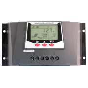 Kontroler solarny PWM EL- WP30D-30A, 12/24V, LCD, Light control, Ah (in/out)