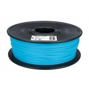 Drut PLA filament do druku 3D 3 mm 1kg błękitny