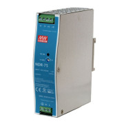 MEAN WELL NDR-75-12 ZASILACZ DIN 75,6W 12VDC 6,3A