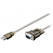 ADAPTER USB-RS232 D-SUB 9PIN WTYK USB A WTYK 1,5m