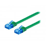 GOOBAY PATCH CORD U/UTP 6a LINKA CU PVC GREEN 0,5m