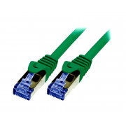 LOGILINK PATCH CORD S/FTP CAT.6a ZIELONY 2m 26AWG