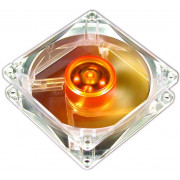 WENTYLATOR AKASA 120MM AMBER ULTRA QUIET LONG LIFE