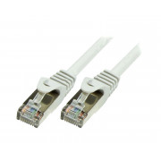 LOGILINK PATCH CORD F/UTP CAT 5e SZARY 0,25m 26AWG