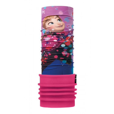 KOMIN JUNIOR POLAR US BUFF FROZEN ANNA BRIGHT PINK