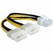 ADAPTER 2x MOLEX/PCI-EXPRESS 8-PIN AK-CA-29