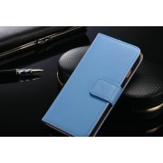 IPHONE 6 4.7 ETUI PORTFEL FLIP COVER SKÓRA BLUE