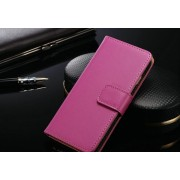 IPHONE 6+ PLUS ETUI PORTFEL FLIP COVER SKÓRA PINK